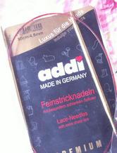 德国addi棒针介绍及其针号针径对照表