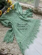 钩织结合蕾丝女士春夏毛衣 棒针毛衣教程