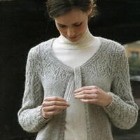 ROWAN设计JESS女士棒针素雅开衫翻译教程