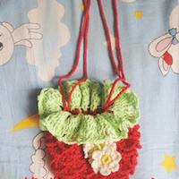 儿童草莓斜挎包钩针编织教程