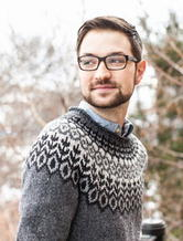 美国针织设计师贾里德弗拉德 布鲁克林粗花呢毛线制造商