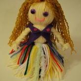 亲子手工 与孩子一起做毛线娃娃