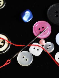 趣味编织小知识 扣子的四六与左右