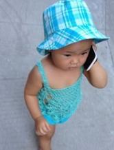 小宝贝的盛夏清凉小肚兜 钩针编织