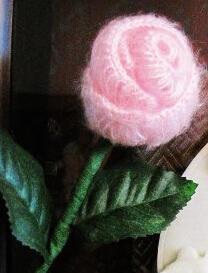 织姐一步步教织简单漂亮玫瑰花