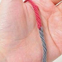 编织技巧 实用的不打结接线方法
