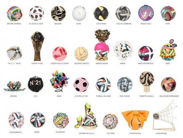 世界杯创意足球设计 时尚界的善举