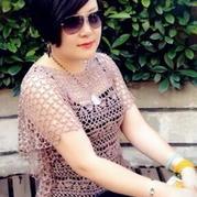 蝴蝶袖显瘦套衫 钩编夏季清凉衫