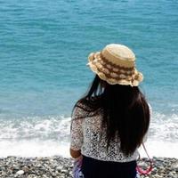 海边假日棉草凉帽 钩针编织