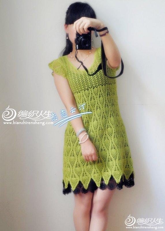 夏绿蒂 钩针编织夏季美裙