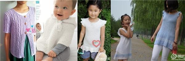 编织毛衣精品,其中包括亲子装,婴儿斗篷,新生儿和尚服开裆裤套装等~小