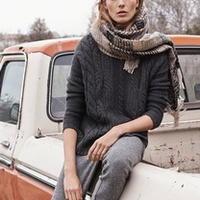国际品牌MANGO 2014秋冬中性针织毛衣
