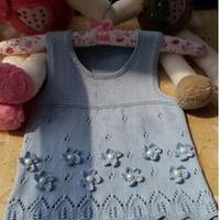 简单易织多元素婴幼儿公主裙 棒针编织