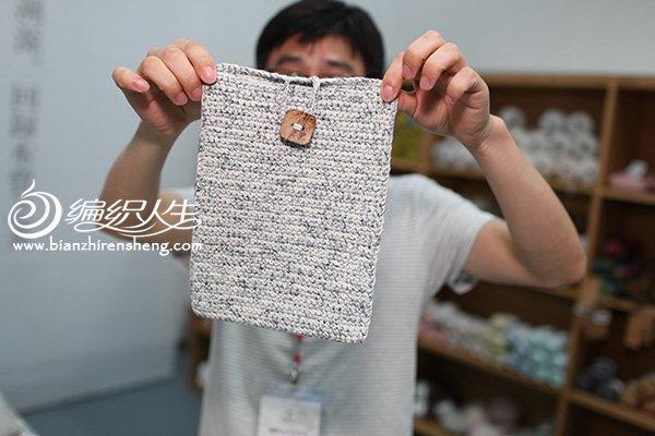 编织iPad包包