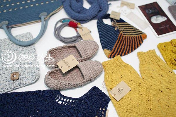 编织地板鞋