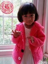 适合新手编织的中性棒针儿童毛衣款式