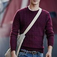 国际时尚品牌2014秋冬男装型录中的针织元素
