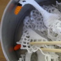 白眼鱼儿教你织物定型 钩针编织基础教程