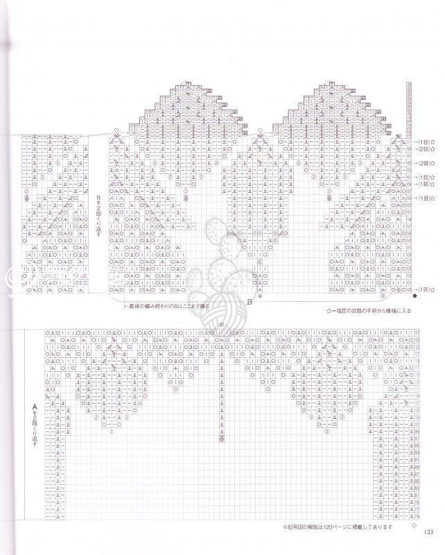 手编精美蕾丝桌布 棒针编织蕾丝-编织教程-编织人生
