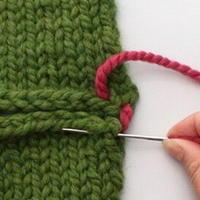 七种棒针编织织片缝合的方法