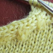 小燕子及斜肩收针 棒针编织技巧教程