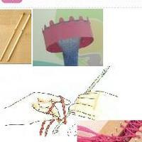 其它手工编织技法所用工具