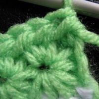 介绍一种特别针法star stitch星针 钩针编织花型