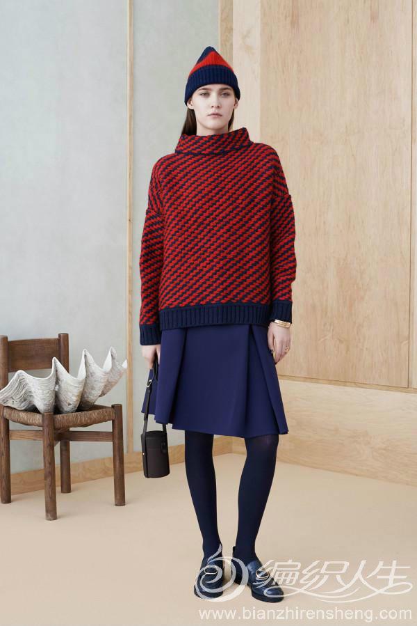 2014-2015针织毛衣如何搭配裙子