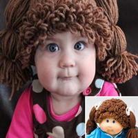 钩针编织假发套瞬间让宝宝变玩偶