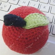 趣味编织之钩针编织小苹果