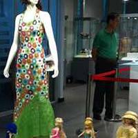 毛线编织在上海民间艺术成果展