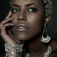 以色列纺织品设计师金属蕾丝珠宝设计