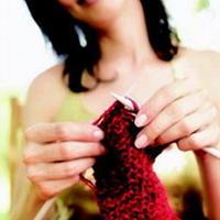 编织毛衣可治疗抑郁症