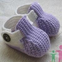 可爱男童女童婴儿钩编宝宝鞋