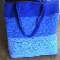简时尚海洋钩针编织单肩方包