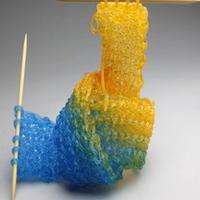 叹为观止西雅图艺术家的针织玻璃