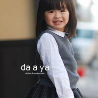Angela安吉拉 2-3岁简单棒针背心