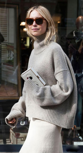 宽松女士毛衣