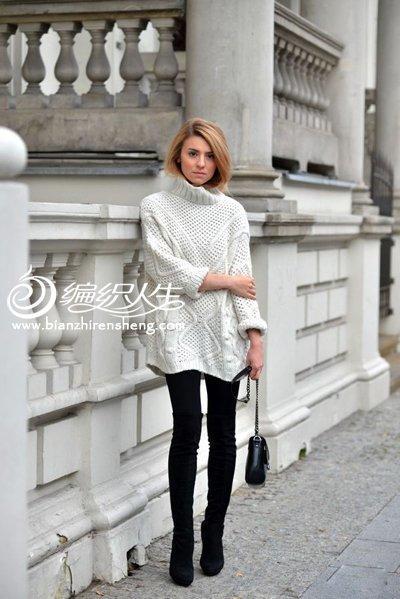欧美时尚毛衣