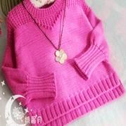 简洁男女童都适用的宽松小毛衣