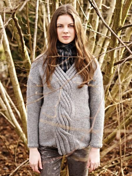 女士套头毛衣款式_15款ROWAN经典毛衣款式欣赏-女装图库-编织人生
