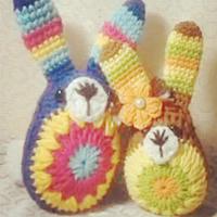 呆萌安格拉斯兔子玩偶钩织视频教程