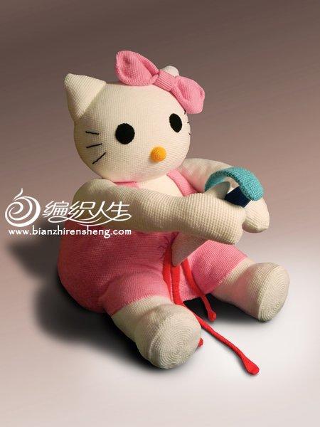 针织hello kitty