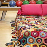 7款创意毛线编织毯 温暖惬意秋冬生活