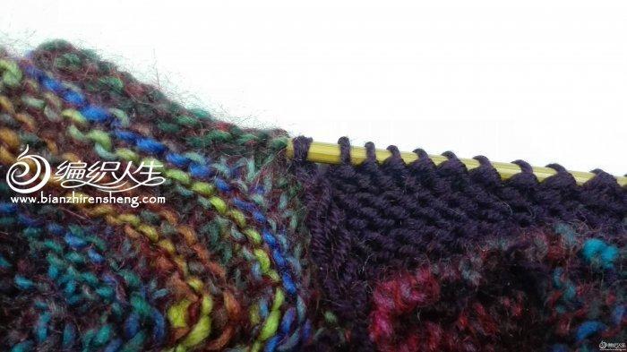 独特织法造型棒针方块星形帽子