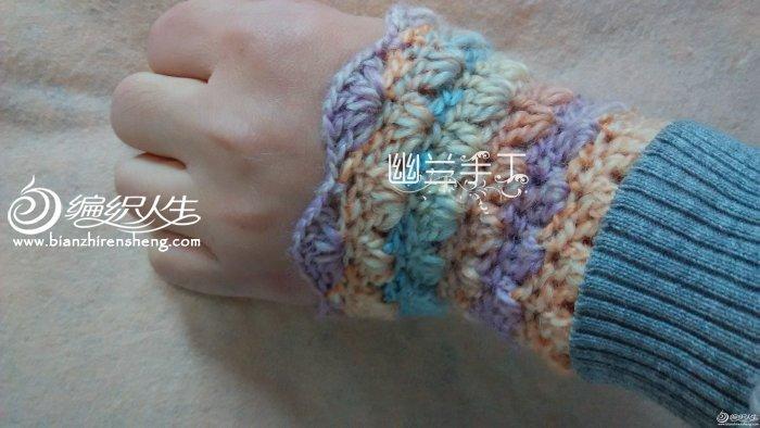 冬日温暖小物之腕套
