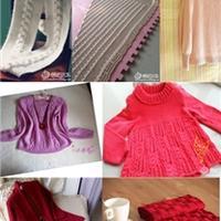 云柔作品(一)15款棒针编织毛衣