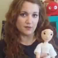 美国玩偶设计师教你制作钩编人偶头发