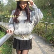 艾萌 大牌时尚棒针外套式毛衣