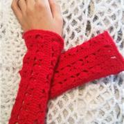 温暖一冬 钩针编织冬季长护腕